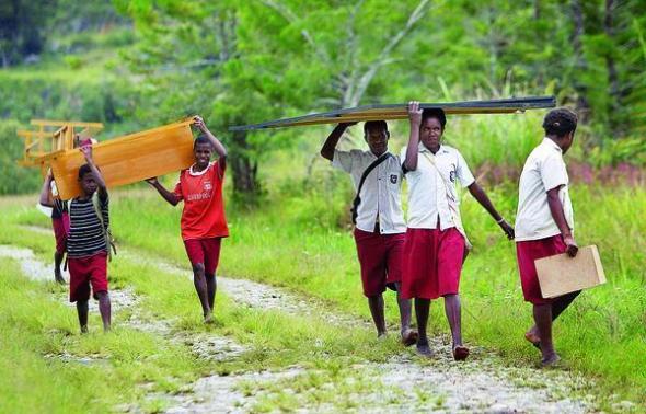 murid Papua