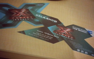 tiket Gala Live Show RCTI