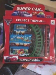 Mainan kereta api hadiah sunat