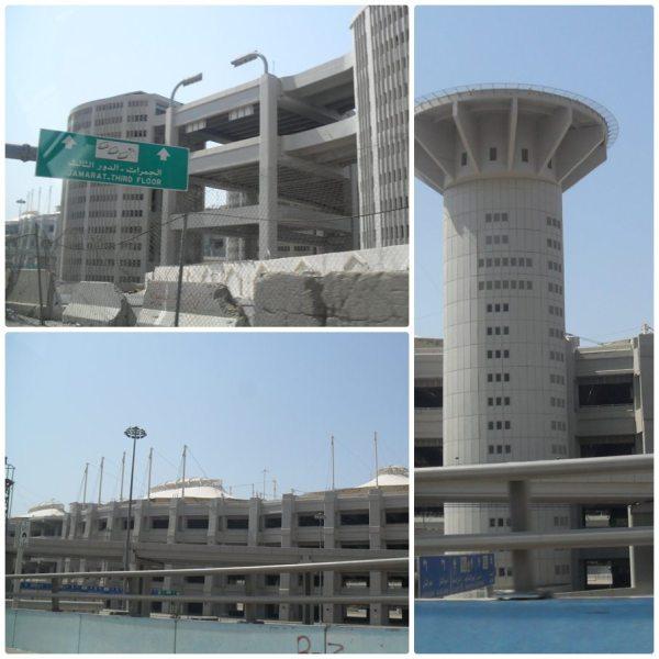 Helipad Jamarat (foto dari http://khairulainnur.blogspot.co.id/2011/09/umrah-syawal-ziarah-mekah.html)